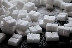 カロリーを連想させる砂糖の写真